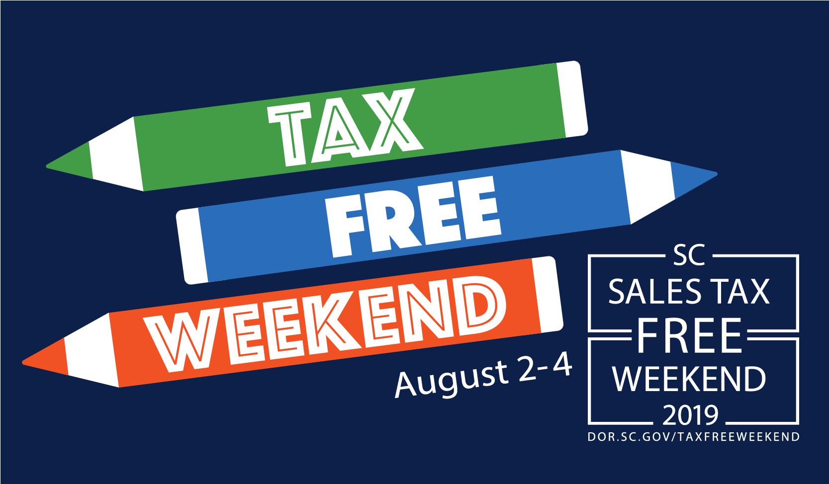 Sales Tax Free Weekend