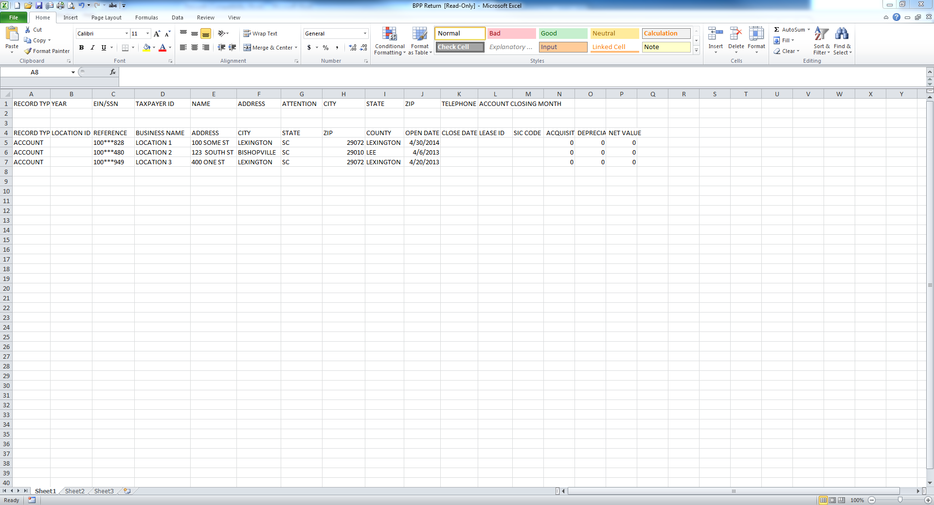 Excel File Of All Sic Codes By Industry
